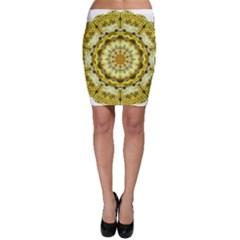 Fractal Flower Bodycon Skirt