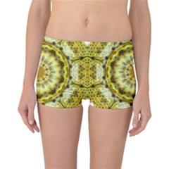Fractal Flower Reversible Bikini Bottoms