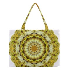 Fractal Flower Medium Tote Bag
