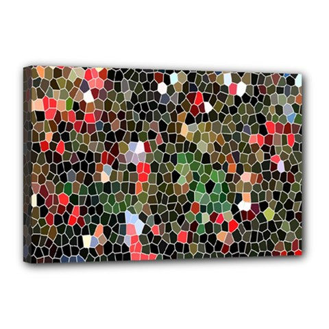 Colorful Abstract Background Canvas 18  X 12