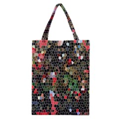 Colorful Abstract Background Classic Tote Bag