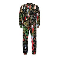 Colorful Abstract Background Onepiece Jumpsuit (kids)