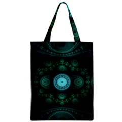 Grand Julian Fractal Zipper Classic Tote Bag