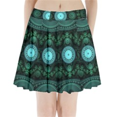 Grand Julian Fractal Pleated Mini Skirt