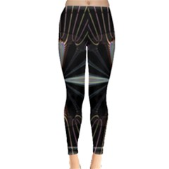 Fractal Rays Leggings