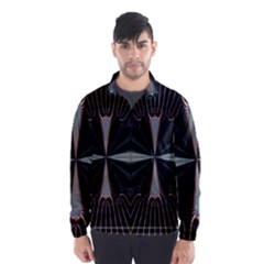 Fractal Rays Wind Breaker (men)