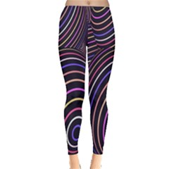 Abstract Colorful Spheres Leggings