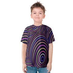 Abstract Colorful Spheres Kids  Cotton Tee