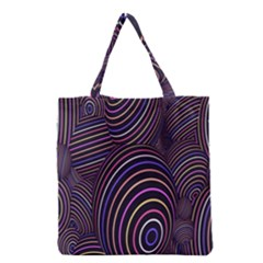 Abstract Colorful Spheres Grocery Tote Bag