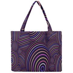 Abstract Colorful Spheres Mini Tote Bag