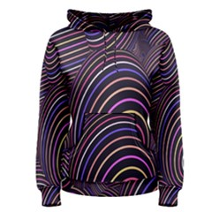 Abstract Colorful Spheres Women s Pullover Hoodie