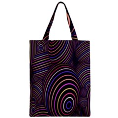 Abstract Colorful Spheres Zipper Classic Tote Bag