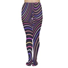 Abstract Colorful Spheres Women s Tights