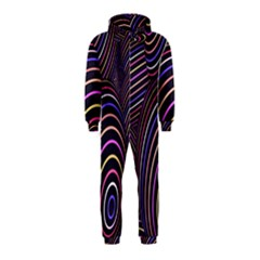 Abstract Colorful Spheres Hooded Jumpsuit (kids)