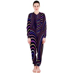 Abstract Colorful Spheres OnePiece Jumpsuit (Ladies)