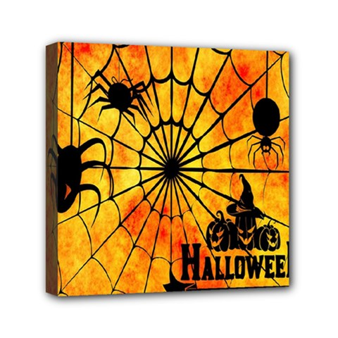 Halloween Weird  Surreal Atmosphere Mini Canvas 6  X 6