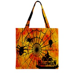 Halloween Weird  Surreal Atmosphere Grocery Tote Bag