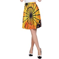 Halloween Weird  Surreal Atmosphere A-Line Skirt