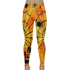 Halloween Weird  Surreal Atmosphere Classic Yoga Leggings