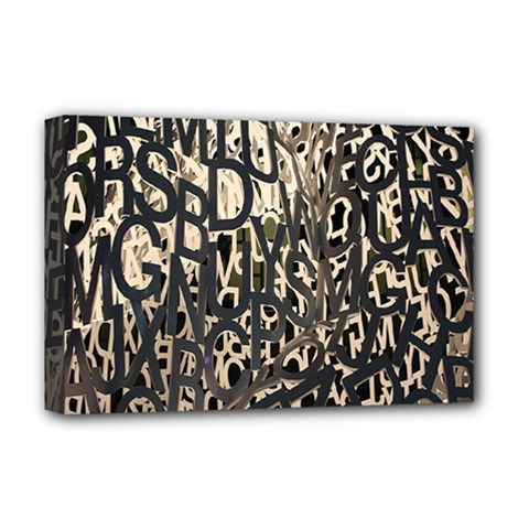 Wallpaper Texture Pattern Design Ornate Abstract Deluxe Canvas 18  X 12