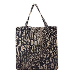 Wallpaper Texture Pattern Design Ornate Abstract Grocery Tote Bag