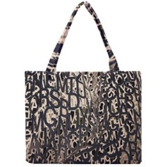 Wallpaper Texture Pattern Design Ornate Abstract Mini Tote Bag