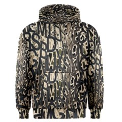 Wallpaper Texture Pattern Design Ornate Abstract Men s Pullover Hoodie