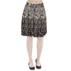 Wallpaper Texture Pattern Design Ornate Abstract Pleated Skirt