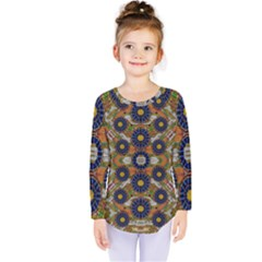 Fleur Flower Porcelaine In Calm Kids  Long Sleeve Tee