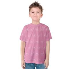 Pink pattern Kids  Cotton Tee