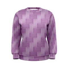 Purple pattern Women s Sweatshirt