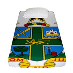 Coat of Arms of Ghana Fitted Sheet (Single Size)
