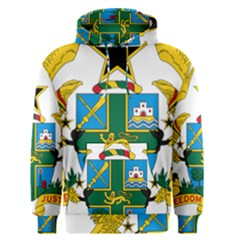 Coat of Arms of Ghana Men s Pullover Hoodie