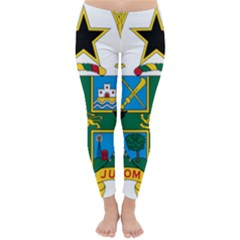 Coat of Arms of Ghana Classic Winter Leggings