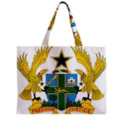 Coat of Arms of Ghana Zipper Mini Tote Bag