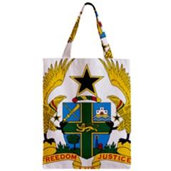 Coat of Arms of Ghana Zipper Classic Tote Bag