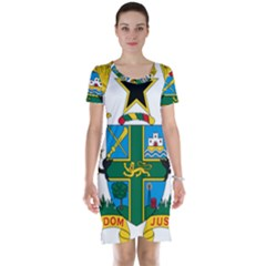 Coat of Arms of Ghana Short Sleeve Nightdress