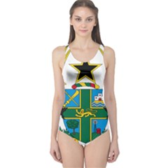 Coat of Arms of Ghana One Piece Swimsuit