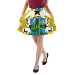 Coat of Arms of Ghana A-Line Pocket Skirt