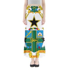 Coat of Arms of Ghana Maxi Skirts