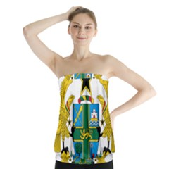 Coat of Arms of Ghana Strapless Top