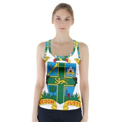 Coat of Arms of Ghana Racer Back Sports Top