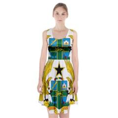 Coat of Arms of Ghana Racerback Midi Dress