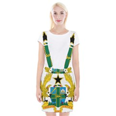 Coat of Arms of Ghana Suspender Skirt