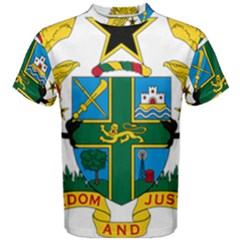 Coat of Arms of Ghana Men s Cotton Tee
