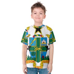Coat of Arms of Ghana Kids  Cotton Tee