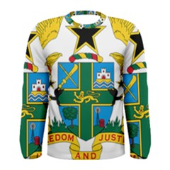 Coat of Arms of Ghana Men s Long Sleeve Tee