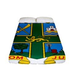Coat of Arms of Ghana Fitted Sheet (Full/ Double Size)