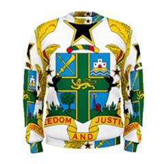 Coat of Arms of Ghana Men s Sweatshirt