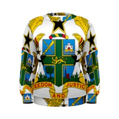 Coat of Arms of Ghana Women s Sweatshirt